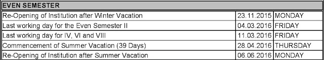 TNDTE Exam Time Table 2016
