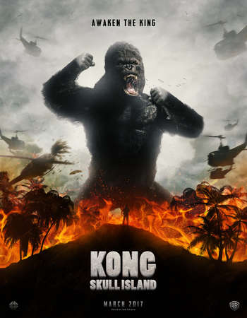 Kong Skull Island 2017 Hindi Dual Audio HC HDRip Full Movie Download