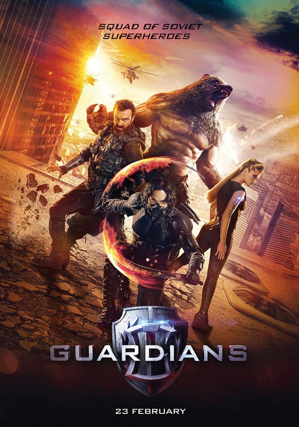 Đánh giá phim: Guardians (2017) - Phim siêu anh hùng Nga