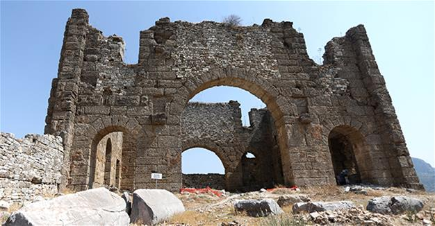 Excavations at Aspendos continue to uncover ancient riches