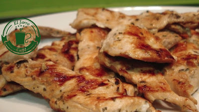 Grille de pollo