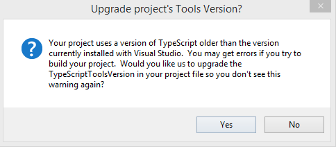 Allen Conway's Blog: Which Version of TypeScript is Installed and