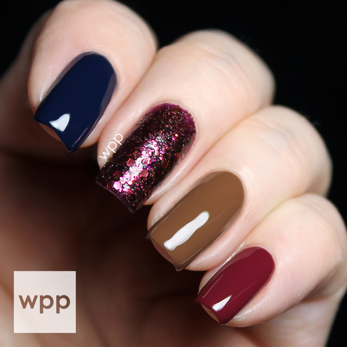 Zoya Entice Collection and Ultra PixieDust Skittle Nail Art