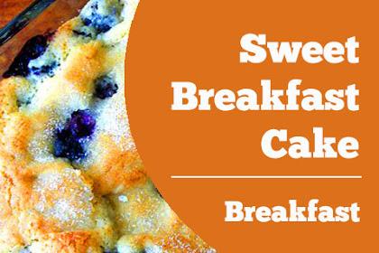 Sweet Breakfast Cake