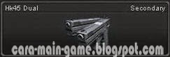 Senjata Point Blank Hk45 Dual