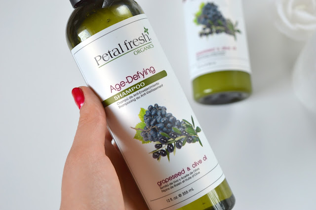 Petal Fresh Organics Grapeseed & Olive Oil szampon