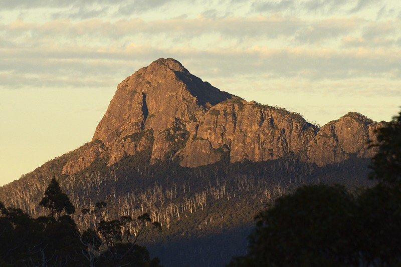 Mt Pillinger from Kia-Ora