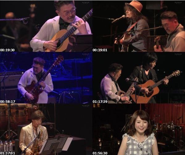 [TV-Variety] 渡辺香津美 – オフビート&JAZZ 渡辺香津美 ギター生活45周年祭 Part2 (WOWOW Live 2016.10.18)