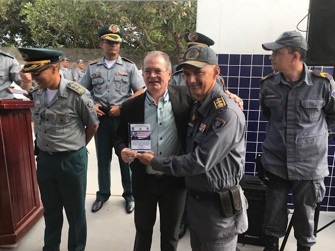 """""""Esse é mais um investimento na segurança de Chapadinha e toda região"""", disse Levi Pontes ao inaugurar sede do Comando do Interior"""""""