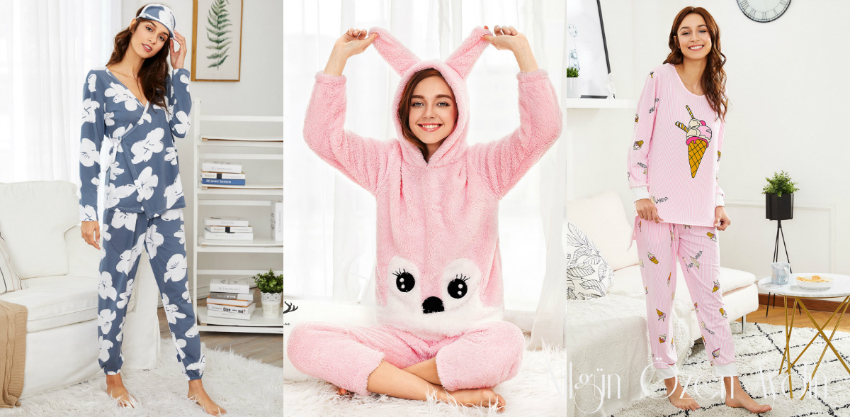 Sevimli Pijama Takımları