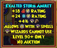Wizard101 Aquila Storm Exalted Amulet