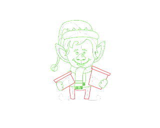 HOW TO DRAW A ChristmasElf