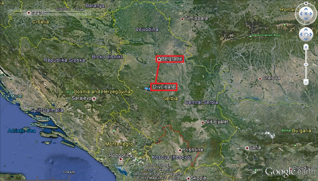 ravna gora mapa srbija Putovanja, planinarenje i skijanje (Traveling, mountaineering and  ravna gora mapa srbija