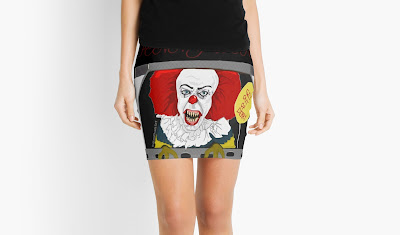 Pennywise (The Clown) Mini Skirts