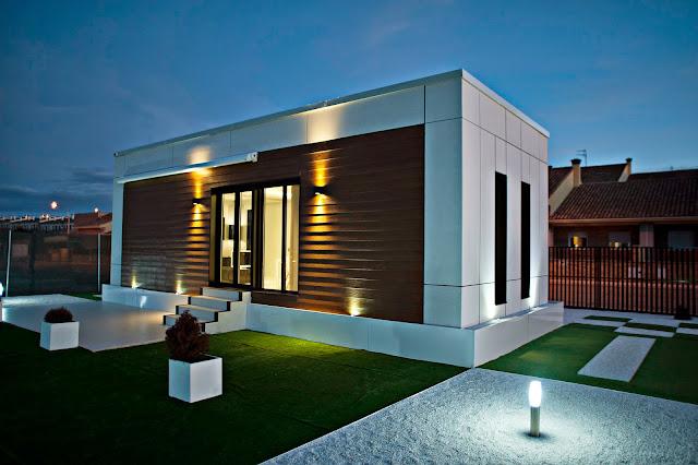 Vivienda modular de Resan - Modelo loft