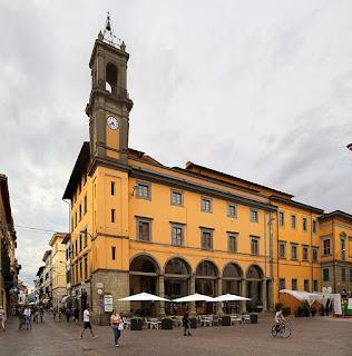 Pontedera's Palazzo Pretorio on the main square
