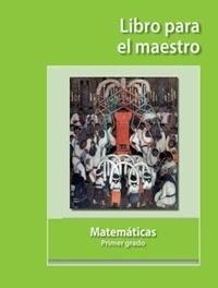 Libro de texto Libro para el maestro Matemáticas Primer grado 2020-2021