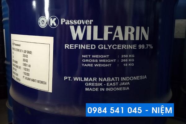 Dung môi công nghiệp Glycerine USP