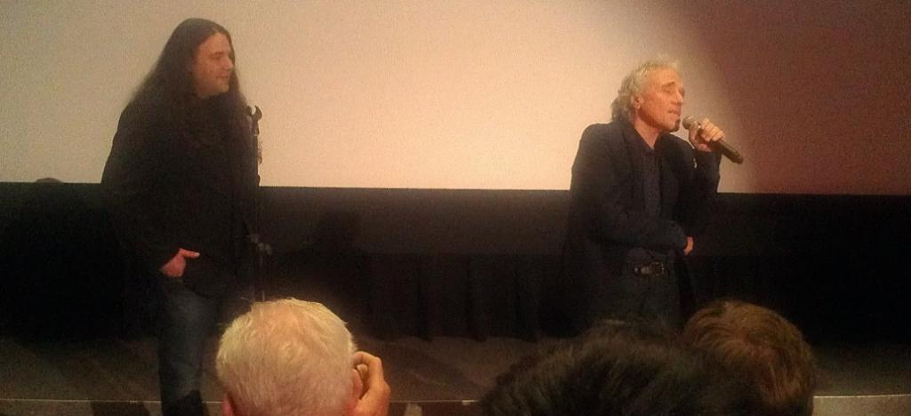 Mitch Davis & Abel Ferrara after WELCOME TO NEW YORK