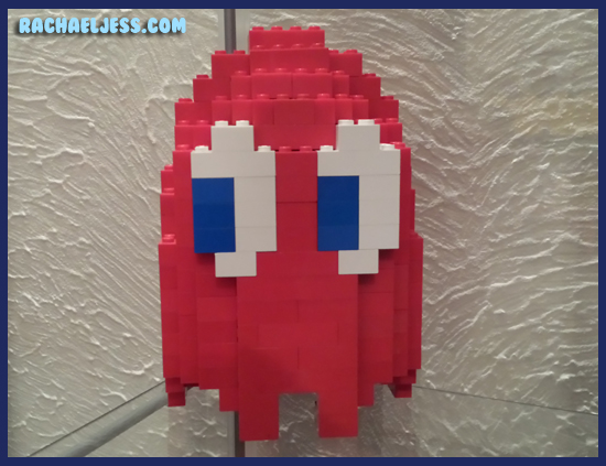Rather large Lego Pac Man Ghost