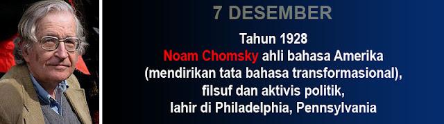 Hari kelahiran Noam Chomsky
