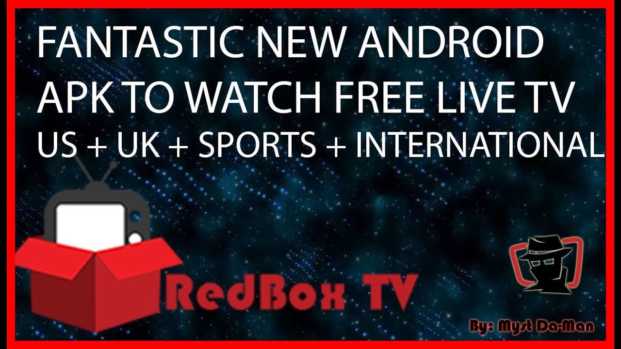 RedBox TV Apk Best Free Live TV On All Android Devices