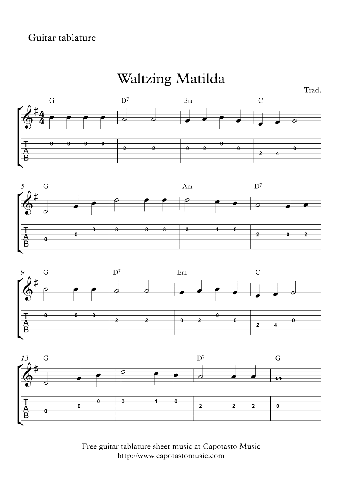 It's just a picture of Massif Free Guitar Sheet Music for Popular Songs Printable