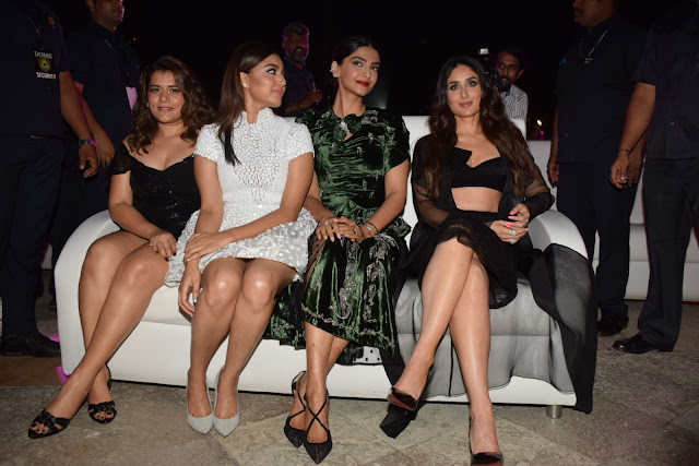Veeres' fashion game gets amped up after the fail at music launch