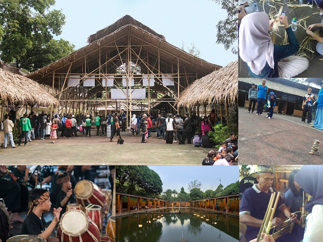 ECO Bambu Cipaku, Kampung Seni Budaya Sunda di Bandung Utara