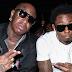 Lil Wayne e Birdman são vistos juntos e se abraçam em boate em Miami