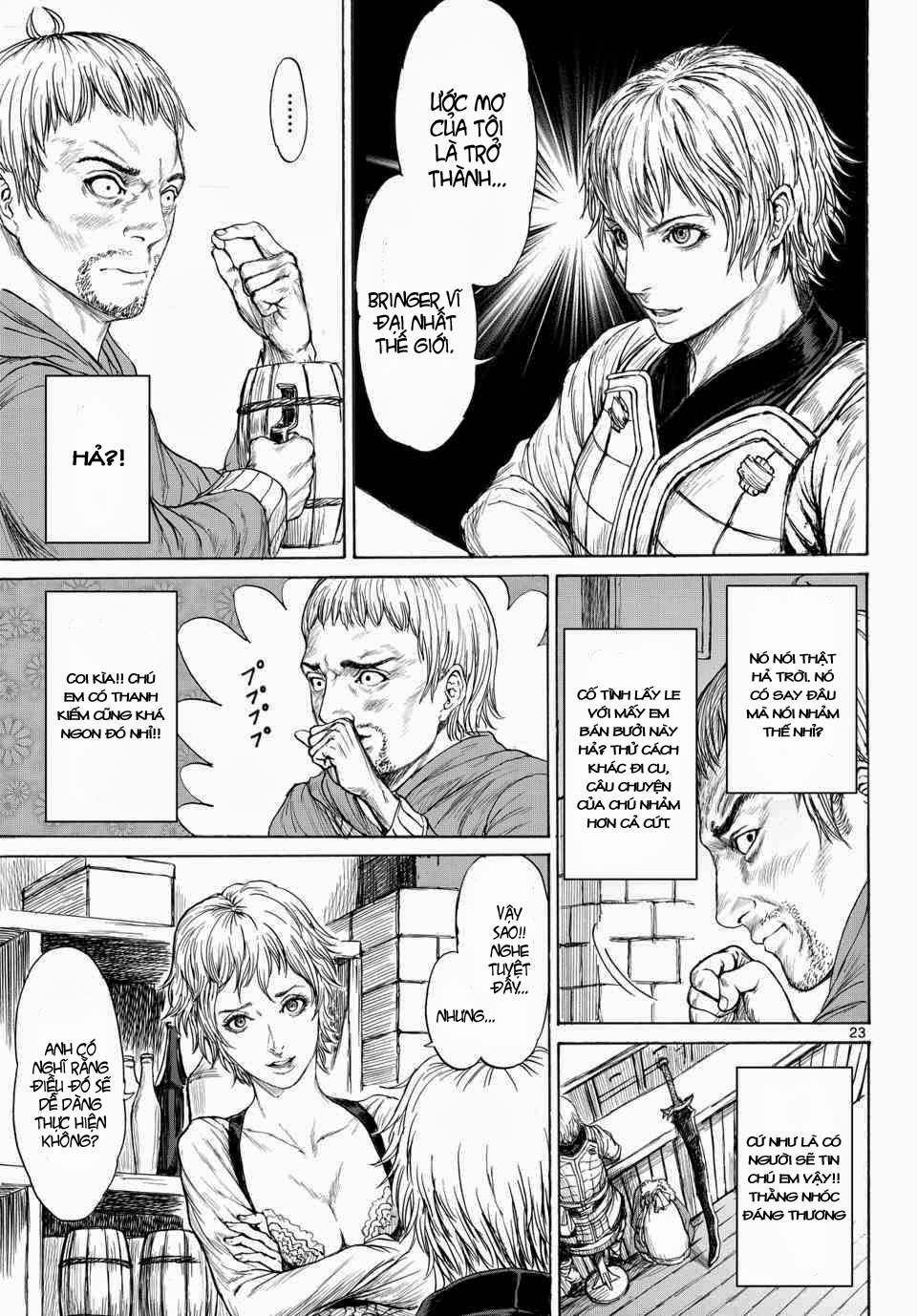 Monster X Monster chapter 1b trang 6
