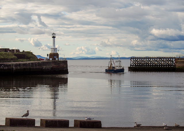 Photo of a fishing boat returning to Maryport