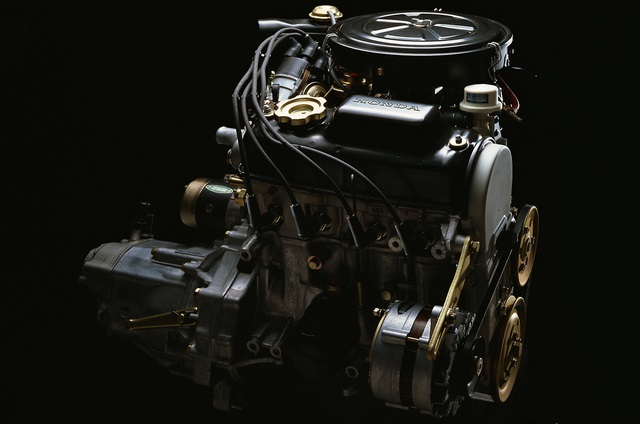 Honda Civic Second Generation engine 1979