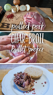 Outdoor Kitchen 10 | Pulled Pork aus dem Char-Broil Bullet Smoker | Der Barbecue-Klassiker | Schweinenacken Räuchern