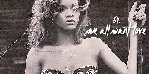 Rihanna We All Want Love MP3, Video & Lyrics