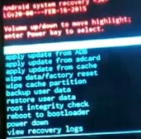 android system recovery lg zone