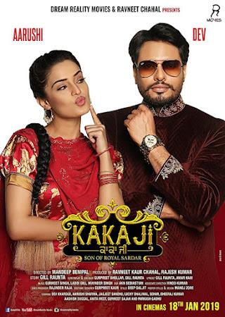 Poster Of Punjabi Movie Kaka Ji 2019 Full HD Movie Free Download 720P Watch Online