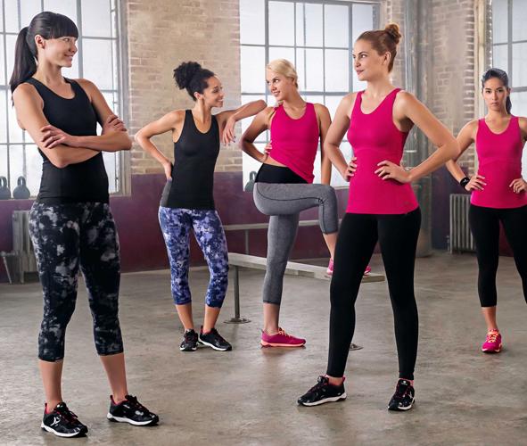 colores delicados 100% de satisfacción oferta Colección de ropa deportiva shape o moldeadora Decathlon ...