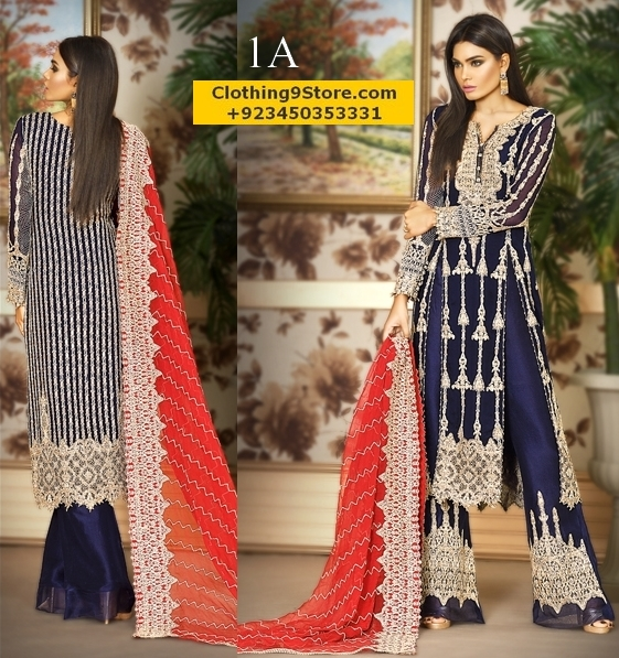 Asim Jofa Mysorie/Chiffon Collection Vol-2 2017-18