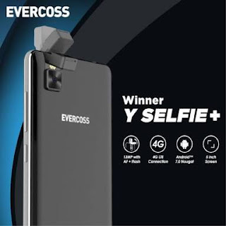 Evercoss Winner Y Selfie HP 5,5 Inci