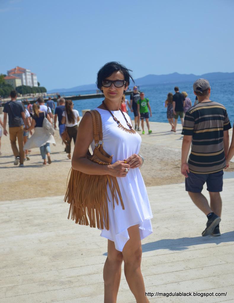 """Zadar – morskie organy i """"Pochwała Słońca"""". Magiczne miasto, w którym morze gra falami."""