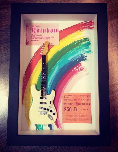 mini guitarra Ritchie Blackmore