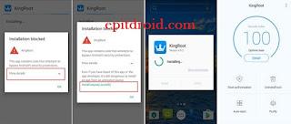 Langkah 1 Download file Kingroot APK