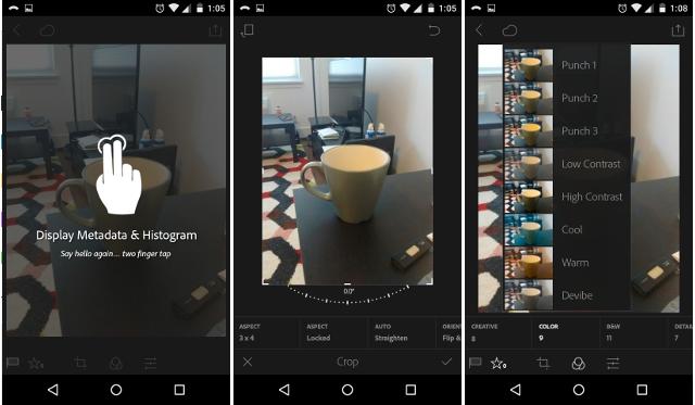 Tampilan Aplikasi Adobe Photoshop Lightroom CC Premium