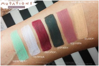 recensione BioPastello occhi - Collezione Mutations - Neve cosmetics