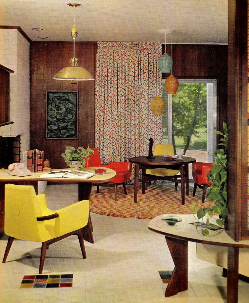 Decora o descolada dos anos 60 e 70 design innova for Interior design 70s style