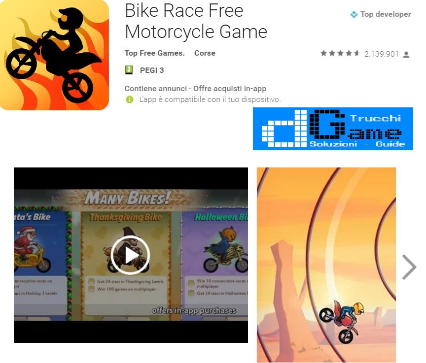Trucchi  Bike Race Free Motorcycle Game  Mod Apk Android
