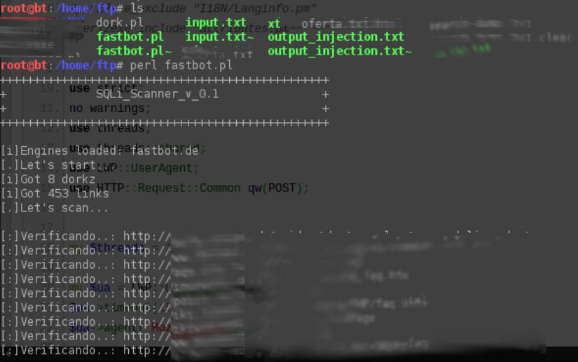 Scanner Bot - ERROR - SQL [FastBot] | Google INURL - Brasil