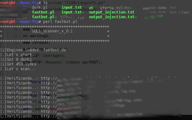 Scanner Bot - ERROR - SQL [FastBot]