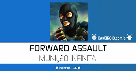Forward Assault v1.1017 Apk + Data Mod [Unlimited Ammo]